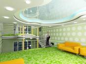 Interiors for private hotel in Nalchik, Russia